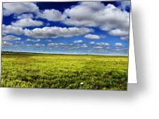Flint Hills Panorama 1 Greeting Card