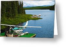 Float Planes Greeting Card