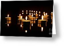 Floating Candles Greeting Card