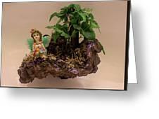Floating Island Fairy Greeting Card