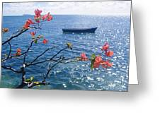 Floating Tranquility Greeting Card