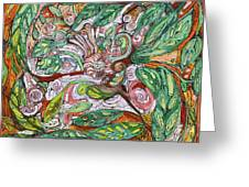 Flora And Fauna Greeting Card