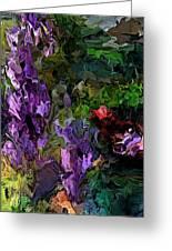 Flora Landscape 081015 Greeting Card