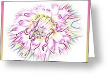 Floradoodle Greeting Card