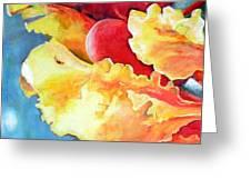 Floraison Greeting Card