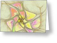 Floral 2-19-10-a Greeting Card