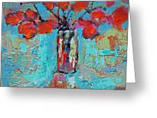 Floral 4 Greeting Card