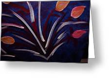 Floral Abstract Greeting Card