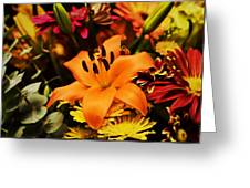Floral Arrangement Greeting Card
