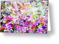 Floral Art Clvi Greeting Card