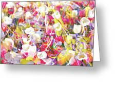 Floral Art Clvii Greeting Card
