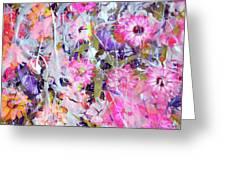 Floral Art Clviii Greeting Card