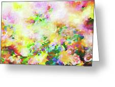 Floral Art Clxiv Greeting Card
