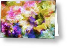 Floral Art Cxii Greeting Card