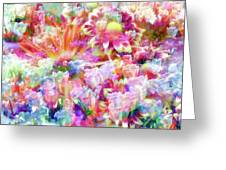 Floral Art Cxiii Greeting Card