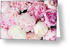 Peony Song Greeting Card