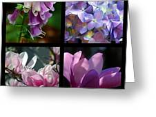 Floral Beauties Greeting Card