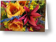 Floral Blast Greeting Card