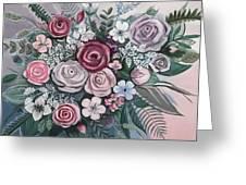 Floral Boom Greeting Card