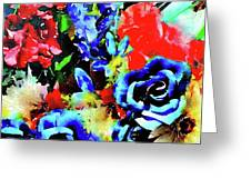 Floral Celebration Greeting Card