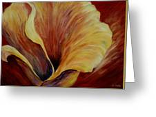 Floral Close Up Greeting Card