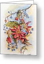 Floral Display 1 Greeting Card