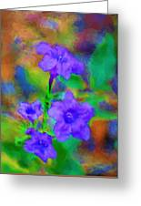 Floral Expression Greeting Card