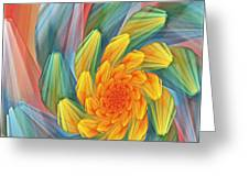 Floral Expressions 1 Greeting Card