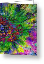 Floral Expressions II Greeting Card