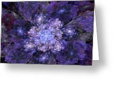 Floral Fantasy 1 Greeting Card