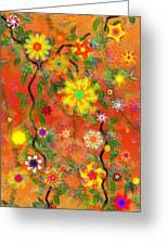 Floral Fantasy 122110 Greeting Card