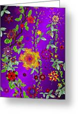 Floral Fantasy 122410 Greeting Card