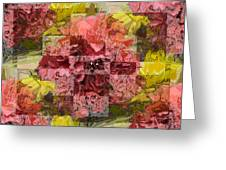 Floral Flux Greeting Card