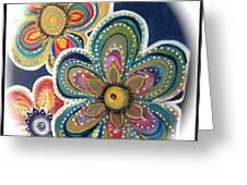 Floral Fun Greeting Card