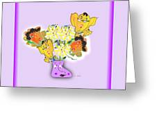 Floral Happiness Greeting Card