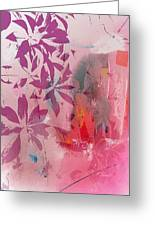 Floral Illusion Greeting Card
