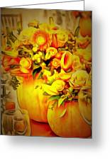 Floral In Ambiance Greeting Card