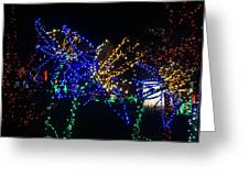 Floral Lights Greeting Card