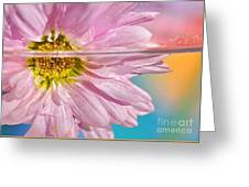 Floral 'n' Water Art 6 Greeting Card