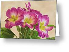 Floral Oil Painting Greeting Card