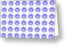 Floral Pattern 2 Greeting Card