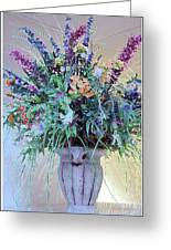 Floral  Piece Greeting Card