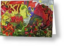 Floral Reef Greeting Card