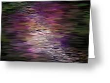 Floral Reflections Greeting Card by Sandra Bauser Digital Art