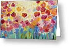 Floral Splendor II Greeting Card