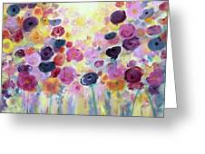 Floral Splendor IIi Greeting Card