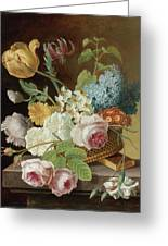 Floral Still Life Greeting Card