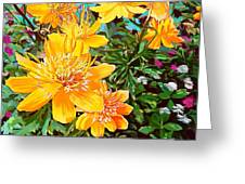 Floral Summer Greeting Card