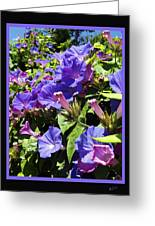 Floral Tango Greeting Card by Kurt Van Wagner