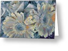 Floral Vegged Out Wow Greeting Card